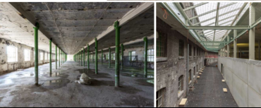 Herbestemming Sphinxfabrieken te Maastricht (fase 1)