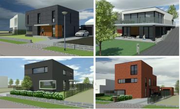 Nieuwbouw villa's BP Nieuw-Stalberg te Venlo