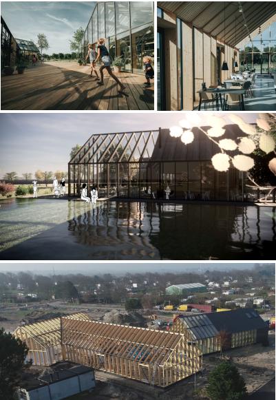 Nieuwbouw centrumgebouw Vakantiepark De Klepperstee te Ouddorp