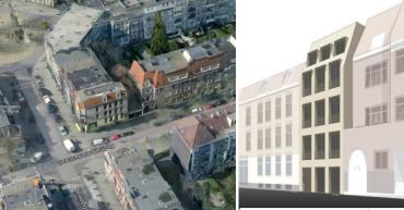 Nieuwbouw Tiny Tower te Amsterdam