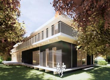 Nieuwbouw retraitecentrum In de Luwte, Hoorneboeg te Hilversum