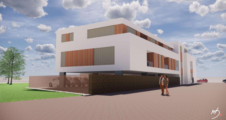 Nieuwbouw, renovatie en transformatie 12 appartementen te Reuver
