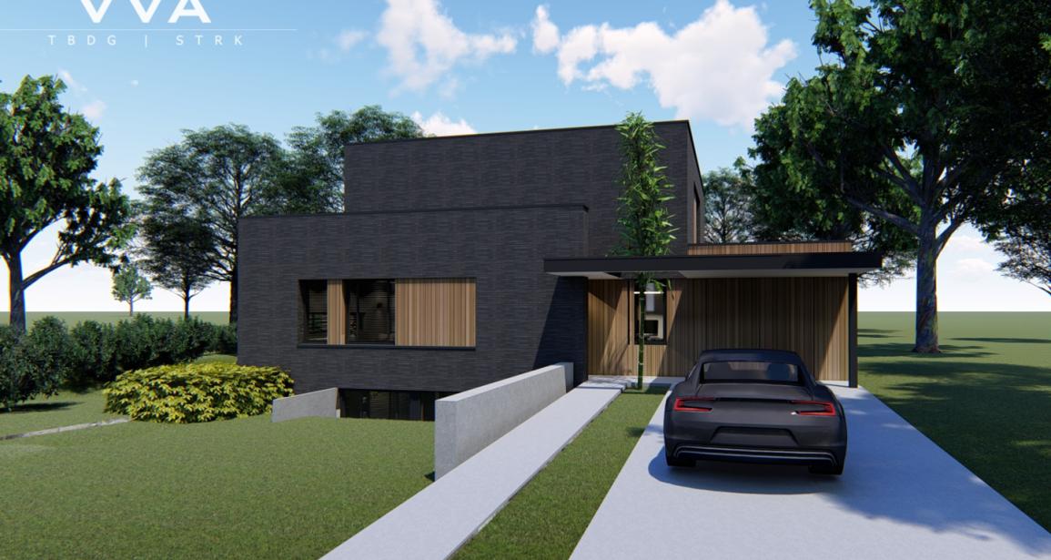 Nieuwbouw woning aan de Parklaan te Panningen